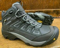 Keen 1018653 Men's Boulder WP MID Steel Toe Magnet Gargoyle