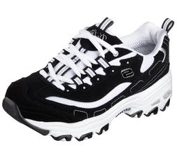 11930 BKW Black Dlites Skechers Shoes Women Sport Casual Com