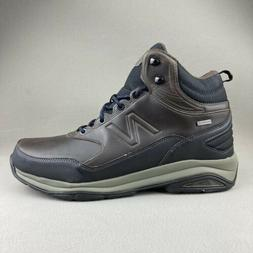 New Balance 1400 Waterproof Brown Leather Hiking Boots Mens