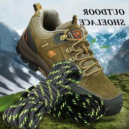 1Pair Outdoor Shoelaces Sport Casual Round Shoes Lace <font>