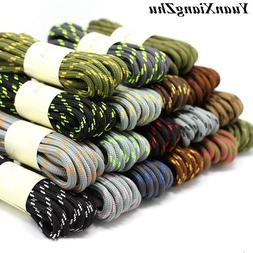 1Pair outdoor sport casual 19Colors round shoelaces <font><b