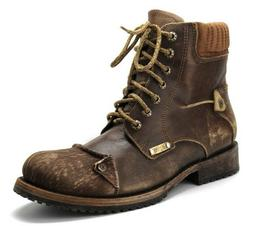 2E08TI Urban vintage hiking ankle boot mad eby Cuadra Boots