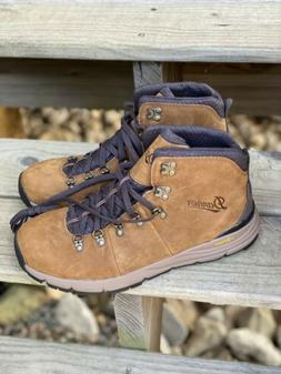 """Danner 4.5"""" Mountain 600 Rich Brown Hiking Boots Size 10 D"""