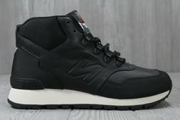 40 New Balance Trail 755 Hiking Black Boots Men's Shoes Sz