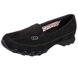 48930 Black Skechers shoes Memory Foam Women Dress  Slipon C