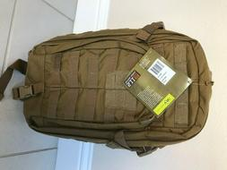 5.11 Tactical Rush Moab 10 Backpack pack-FDE- New with tags-