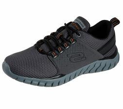 52821 Wide Fit Charcoal Skechers shoes Men Memory Foam Sport
