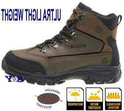 "6"" Mid-Cut Waterproof Hiker Boot light weight Boots Shoes Hi"