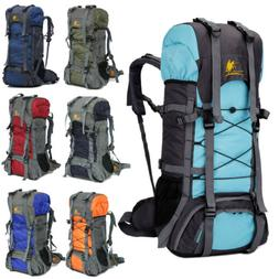 60L Outdoor Camping Travel Rucksack Backpack Climbing Hiking