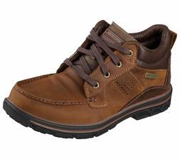 Skechers 64522 Mens Relaxed Fit Segment Melego Boot Dark Bro