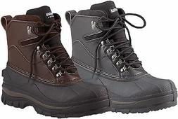 "8"" Cold Weather 100% Waterproof Hiking Boots - Black Or Brow"