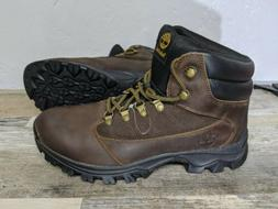 Timberland 9810R Rangeley Mid Brown Leather Hiking Boots Men