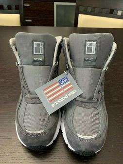 New Balance 990v4 Hiking Trail Running Boots Shoes Mens Sz 1