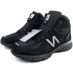 New Balance 990v4 Made In USA Mid Boots Black Shoes Hiking M