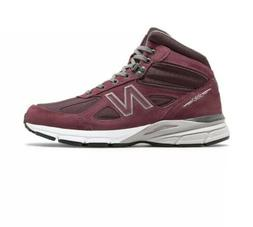 NEW BALANCE 990V4 MEN'S MADE IN USA MID BOOTS M0990BU4 BURGU