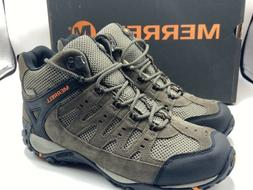 Merrell Men's Accentor Mid Vent Waterproof Hiking Boot, Boul