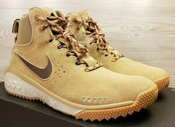 Nike ACG Angels Rest Hiking Boots Beige Khaki Brown Suede AQ
