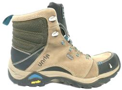 Ahnu Montara Hiking Boots Wome'n Size 5.5  Tan & Brown 9217