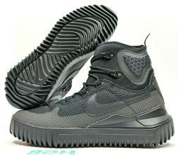 e07c033c382e1 Nike Air Wild Mid Mens Triple Black Boots Trail Hiking 91681