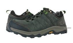 Teva Arrowood Riva WP Black Olive Leather Hiking Shoes Mens