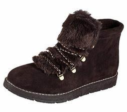 Skechers Bobs Women's Casual Memory Foam Alpine Fur Eva Boot