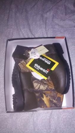 4 or 5 NEW 1 Boy/'s Realtree Xtra Ozark Trail Camo Hiking Boots Sizes 12 13 3