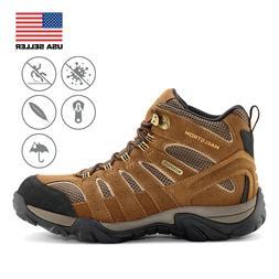 """Maelstrom Breeze Men's 6"""" Brown Waterproof Hiking Boot"""