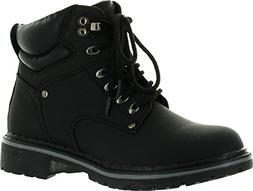 Forever Broadway-5 Women's Military Combat Lace Up Padded Cu