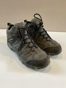Merrell Brown Suede Vibram Select Dry Hiking Shoes Men's Siz