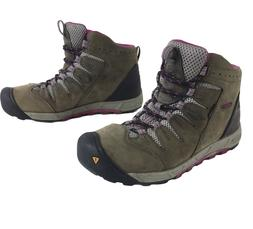 Keen Bryce Mid Waterproof Hiking Leather Boots Womens size 9