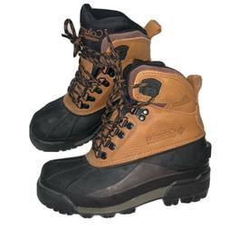 Columbia Bugaboot High Hiking Boots Mens 6 New Brown Snow Wo
