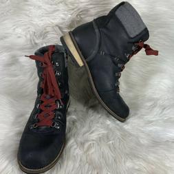 Kodiak Canada's Boot Surrey II Black Matte Leather Hiking