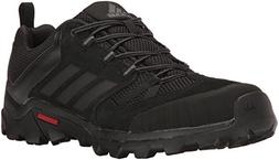 adidas outdoor Men's Caprock Hiking Shoe, Black/Granite/Nigh