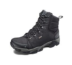 Ahnu Men's Coburn Lightweight Mid Hiking Boot, Black,7 M US