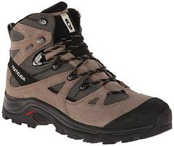 Salomon Men's Discovery GTX Hiking Boot, Navajo/Shrew/Beach,