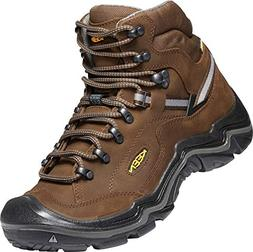 Keen - Men Durand II Mid Wp Wide, Cascade Brown/Gargoyle, 10