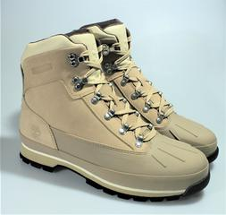 TIMBERLAND EURO HIKER SHELL TOE BOOTS TAN LEATHER WATERPROOF