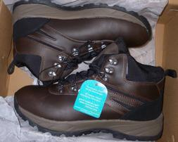 EDDIE BAUER EVERETT MEN'S HIKING BOOTS LEATHER CUSHIONED INS