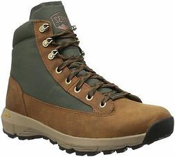 "Danner Men's Explorer 650 6"" Full Grain Hiking Boot, Brown/G"