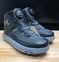 Under Armour Fat Tire Gore Tex Hiking Boa Boots Black Men's