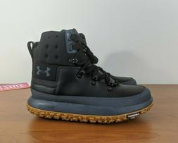 Under Armour Fat Tire Govie Hiking Boots Black Grey Tan 1299
