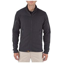 5.11 Men's Fire Resistant Polartec Fleece Jacket, Black, X-L