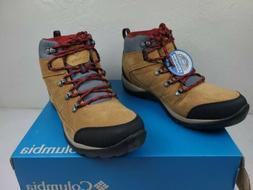 Columbia Fire Venture S II Mid Waterproof Hiking Boots SIZE