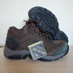 New Balance Gore-Tex Brown Leather Work Hiking Boots Mens Si