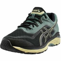ASICS GT-2000 6 Trail  Casual Running Trail Shoes - Black -