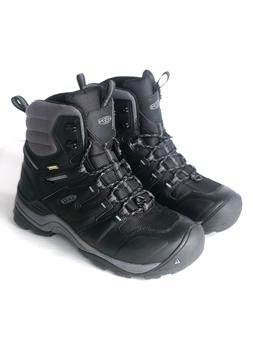 Keen Gypsum Polar Hiking Black Boots Waterproof Insulated Me