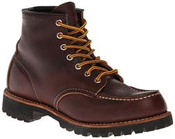 Red Wing Heritage Men's Six-Inch Moc Toe Lug Boot,Brown,12 D