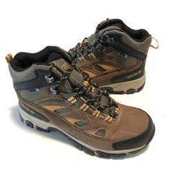 Hi-Tec Logan Mid Waterproof Hiking Boots Mens Size 11 New Br
