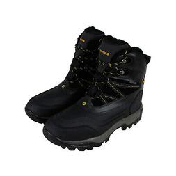 Hi-Tec Snow Peak 200 Waterproof 58009 Mens Black Trail Hikin