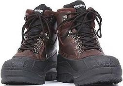 Hiking Boots Brown Thermoblock Cold Weather Waterproof Winte